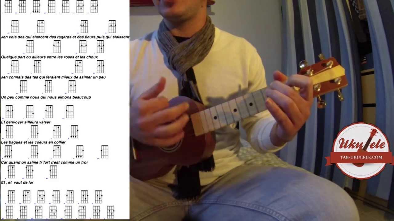 partition guitare zazie j'envoie valser