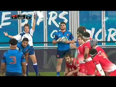 Rugby - World Rugby Under 20 Championship - 2016 - Georgia-France (full match)