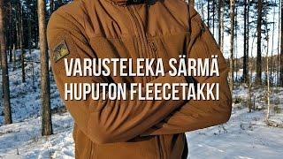 Arvostelu  Varusteleka Särmä huputon fleecetakki 2f40f19ec3