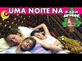 PASSEI UMA NOITE NA CASA DA ÁRVORE - 100% REAL - BELA BAGUNÇA EM FAMÍLIA