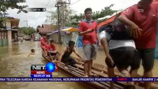 Download Video Bencana Banjir di Bangka Belitung Ketinggian Air Mencapai Dua Meter - NET24 MP3 3GP MP4