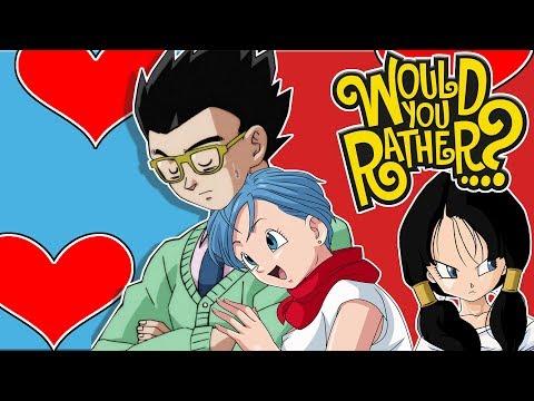 Bulma And Gohan Play Would You Rather? (FT Prince Vegeta)