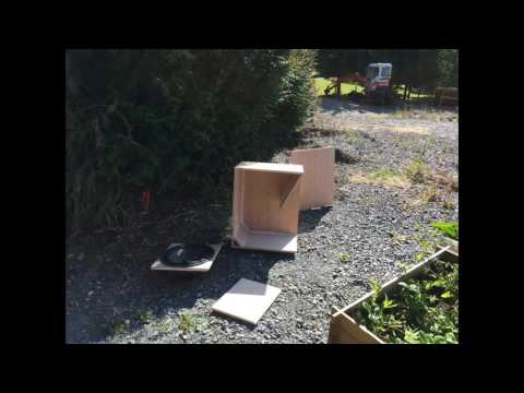 fabrication d 39 un caisson de basse sono youtube. Black Bedroom Furniture Sets. Home Design Ideas