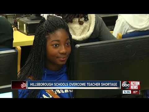 Hillsborough schools overcome national teacher shortage