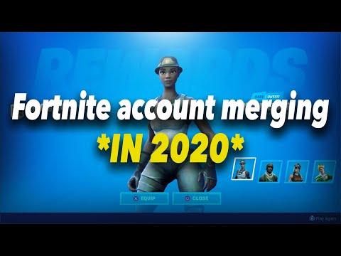 Fortnite ACCOUNT MERGING IN *2020*
