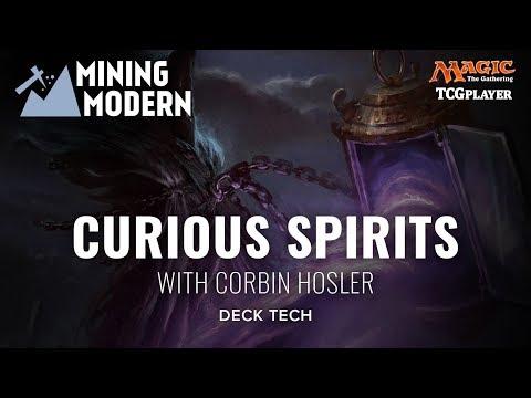 [MTG] Mining Modern - Curious Spirits | Deck Tech