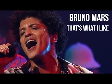 4K Bruno Mars  Thats What I LIke  at Apollo Theater  sub Español + lyrics