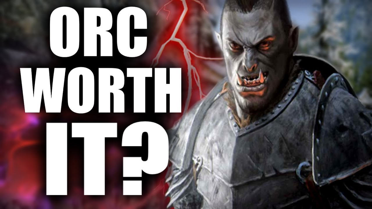 Skyrim: Being an Orc WORTH IT? - Elder Scrolls Lore thumbnail
