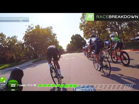 I Got 2nd in a pack sprint?!? (4th overall - Crit Race Breakdown)