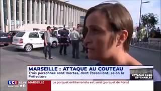 Attentat à Marseille : « Il s'est mis à crier
