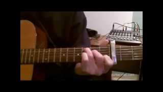How I Play Highway 20 Ride By Zac Brown Band on Acoustic Guitar