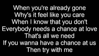 Nicole Scherzinger Try With Me LYRICS