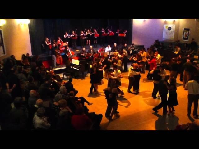 Orquestas de tango de Barcelona y París. La cumparsita