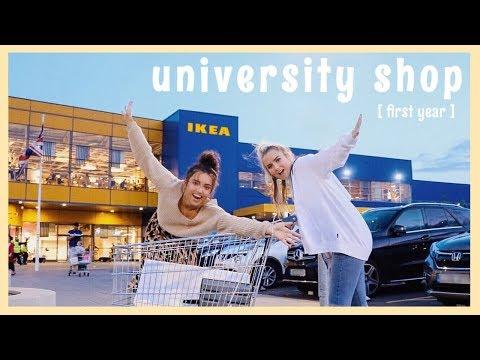 UNI SHOP IN IKEA 📚🛒|| University Haul