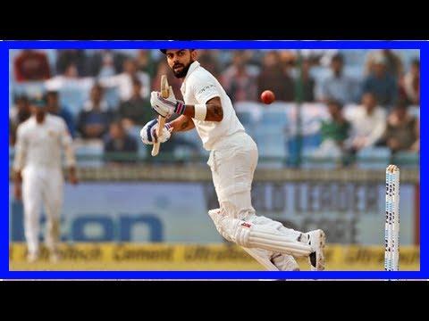 Daily News - India vs. sri lanka, 3rd test: virat kohli celebrates homecoming Delhi with 20 test hu