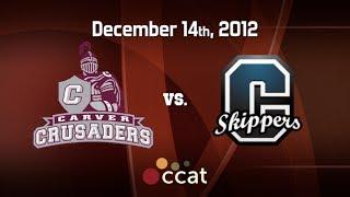 Carver Boys Basketball vs. Cohasset (12/14/12)