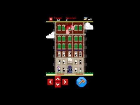Fix-it Felix Jr. iPhone App Review - CrazyMikesapps