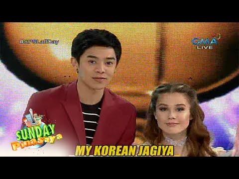 Sunday PinaSaya: Ang cast ng 'My Korean Jagiya,' naglaro sa 'Kantaririt'