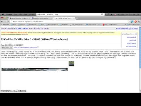 Craigslist Boone North Carolina Used Cars For Sale By Owner