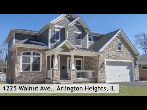 Custom Home Tour - 1225 Walnut Ave - Arlington Heights, IL