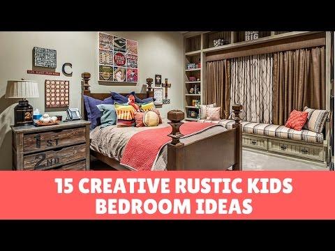 15 Creative Rustic Kids Bedroom Ideas, Remodels & Photos