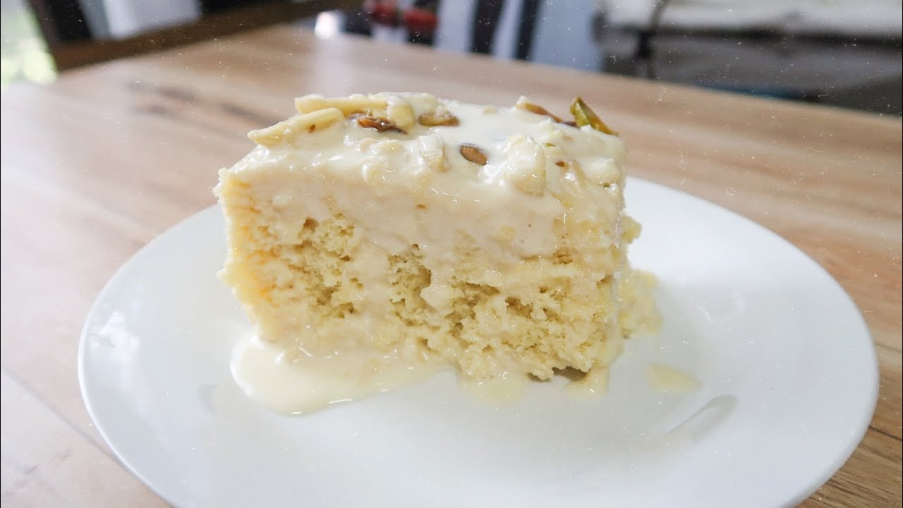 How to make soft malai cake !