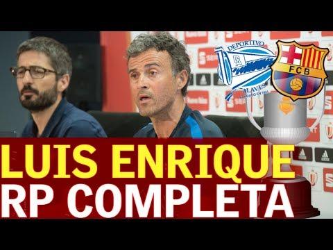 Final Copa del Rey | Rueda de prensa de Luis Enrique |Diario AS