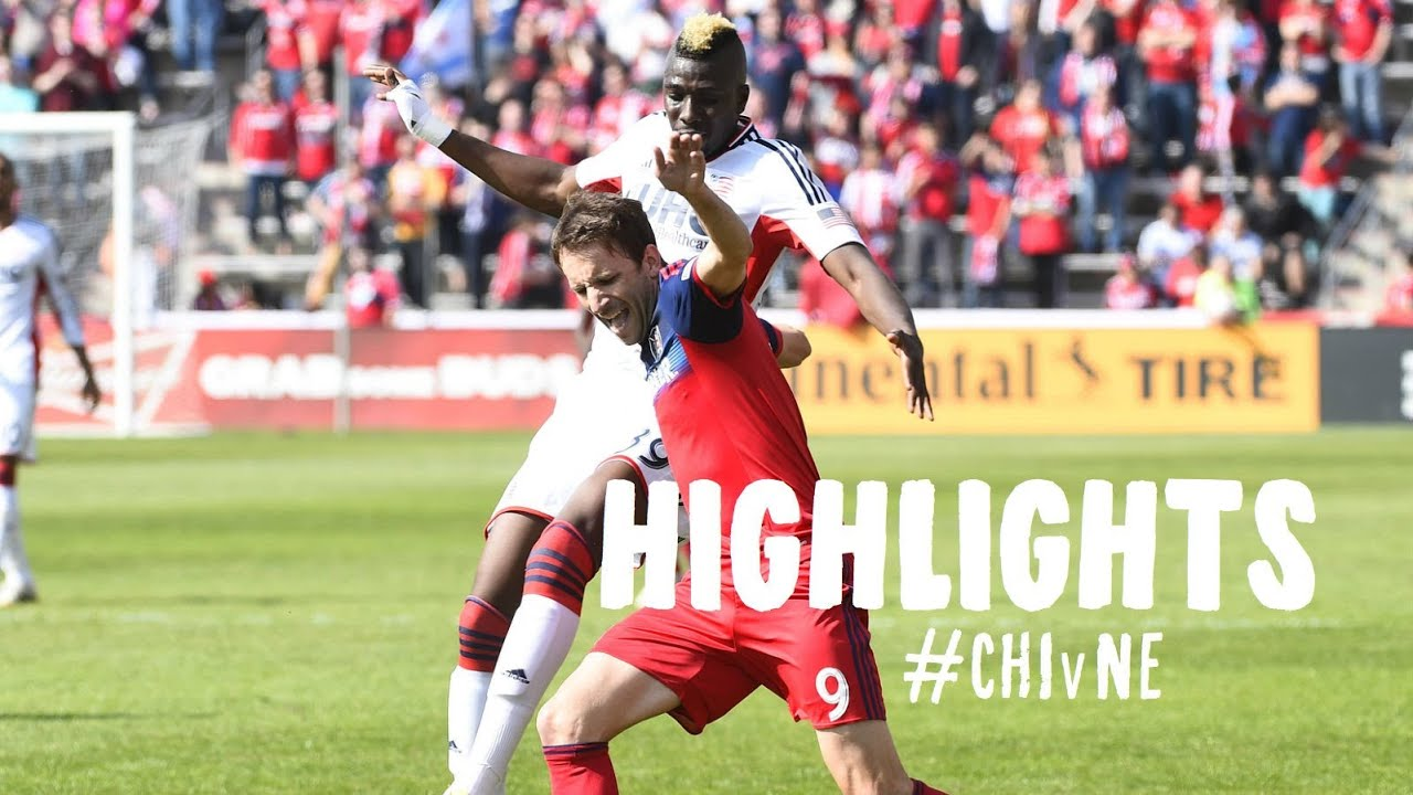 cafb1ffb9 HIGHLIGHTS: Chicago Fire vs. New England Revolution | April 19, 2014 ...
