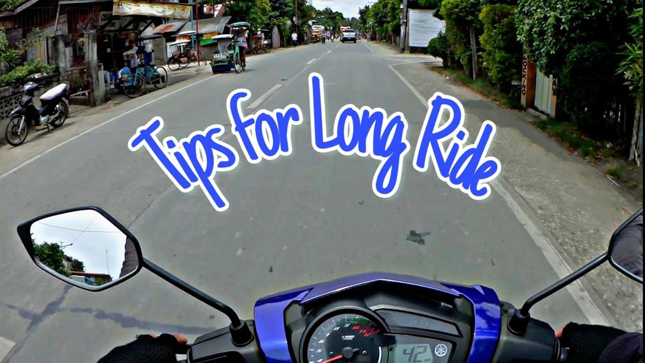 5 Tips For Long Ride | Yamaha Sniper 150 | HD | Tagalog