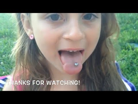 How old to get a tongue piercing