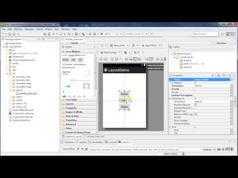Working with Layouts: Android Programming