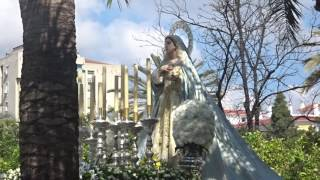 Procesión Gamarra 2017. Buen Camino con Reina de San Román.