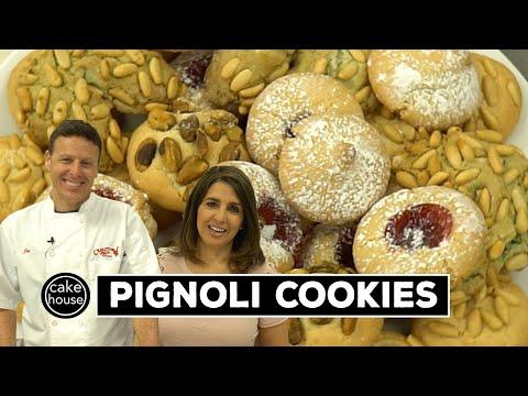 Pignoli Cookies | 5 Varieties! | Classic Desserts W. Cake Boss's Joe & Grace