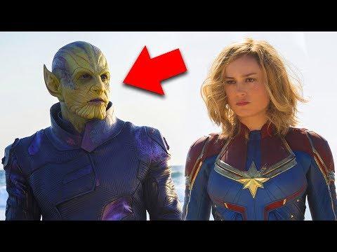 ¡BOMBA! Mira quién aparecerá en Capitana Marvel y por fin conocemos