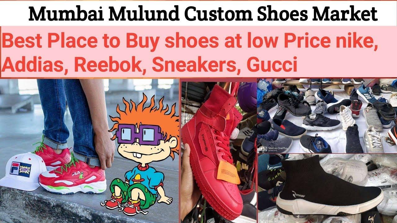 Best shoes market in Mulund east custom