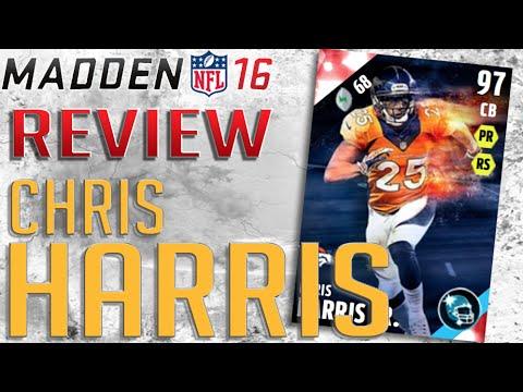 Madden 16 - MUT 16 - 99 Man Coverage Chris Harris Jr. Review!!!