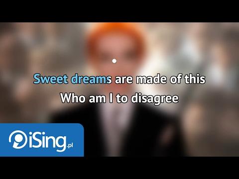 Eurythmics - Sweet dreams (karaoke iSing)