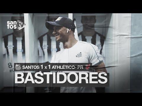 SANTOS 1 X 1 ATHLÉTICO-PR | BASTIDORES | BRASILEIRÃO (08/09/19)