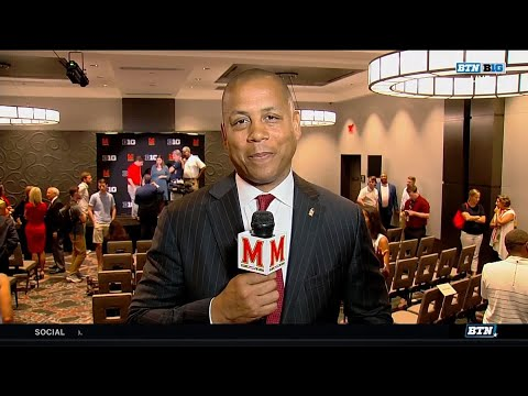 Damon Evans Discusses New Role as Maryland A.D.   Maryland Terrapins