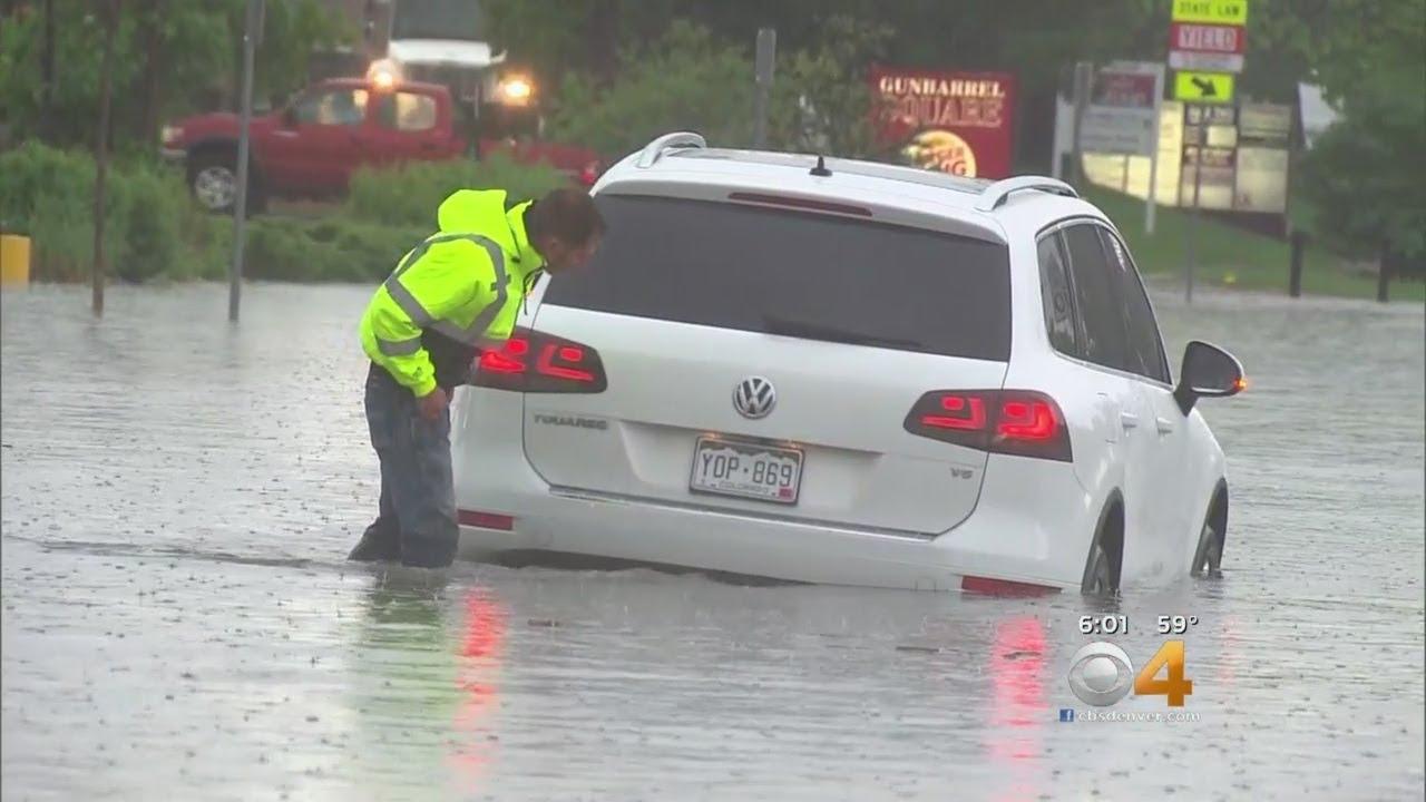 Mobile Weather Lab Tracks Flash Flooding In Boulder