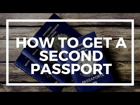 How to get a second passport?