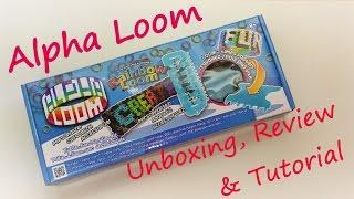 Alpha Loom Unboxing, Review & Tutorial by feelinspiffy (Rainbow Loom)
