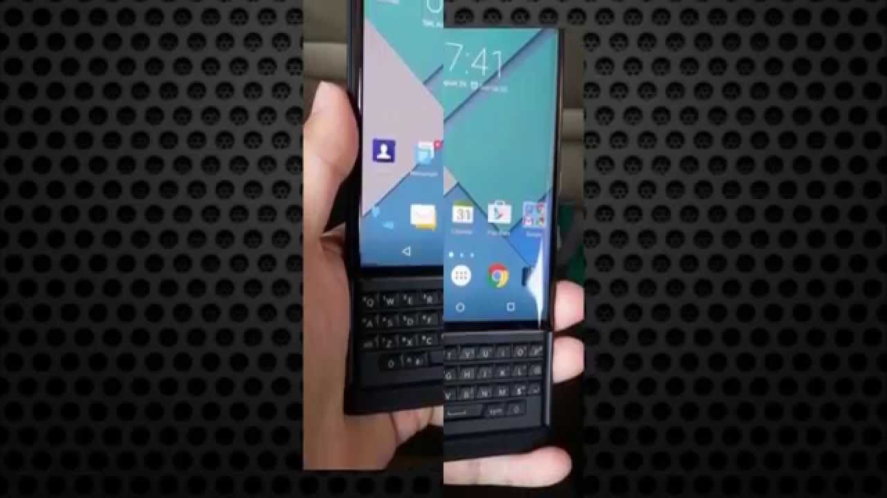 Leaked images claim to show BlackBerry's first Android phone • The ...