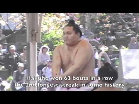 Sumo: Asashoryu vs Hakuho - Yokozuna (Sumo Champion) Match