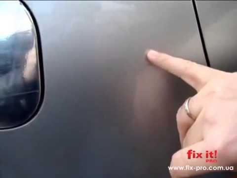Убирает ли царапины c автомобиля карандаш Fix It PRO? - YouTube