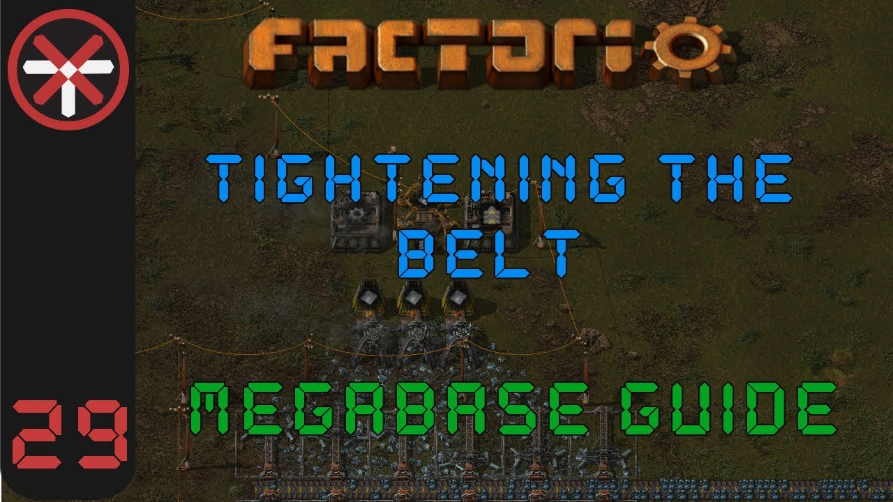 Awesome Factorio: Tightening The Belt: Megabase Guide EP29   MAIN BUS LAYOUT |  Tutorial Gameplay Series