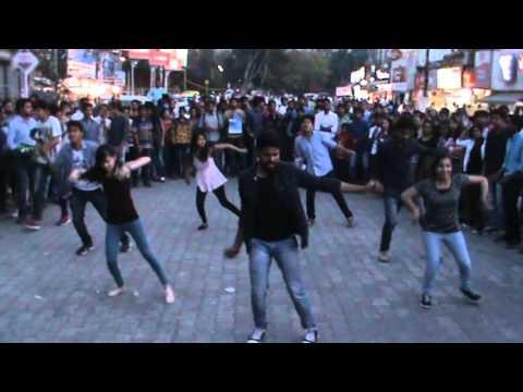 Aakshank 2016 Flash Mob Video - Chappan Dukaan