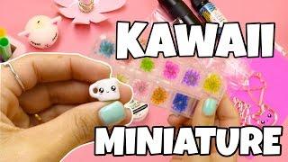 Miniatures,UV resin ,kawaii crafts\ MiniatureSweet review