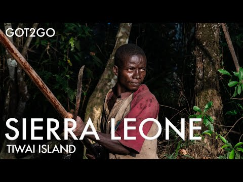 SIERRA LEONE / TIWAI ISLAND: Fearing for my life on a boat ride at Tiwai Island! // EPS 11