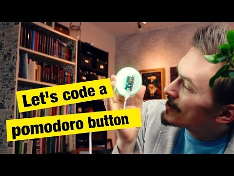 Let's Code a Pomodoro Button - FunFunFunction #30